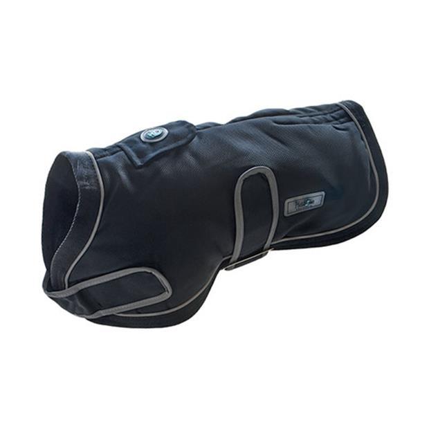 Huskimo Dog Coat Summit Dark Sky 52.5cm Pet: Dog Category: Dog Supplies  Size: 0.4kg Colour: Black...