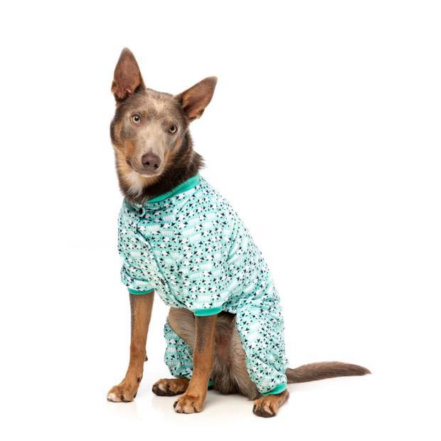 Fuzzyard Pyjamas Counting Sheep Green Size 4 Pet: Dog Category: Dog Supplies  Size: 0.2kg Material:...