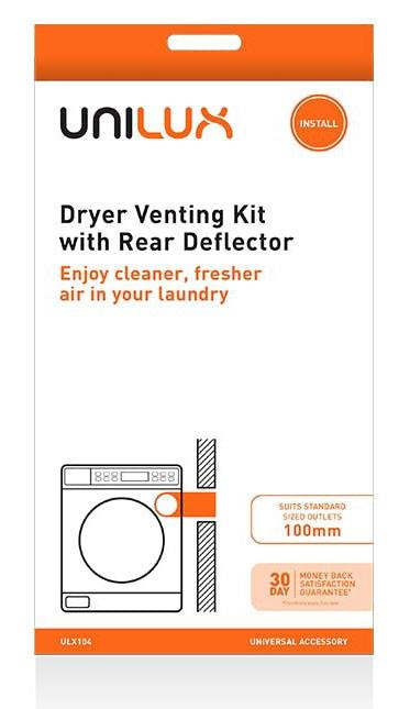 Rear deflector Universal accessory Enjoy cleaner, fresher air in your laundry For standard size clothes...