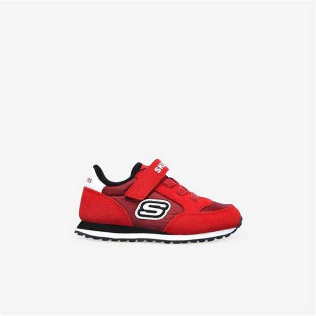 A fun classic sneaker style looks great on your little guy with the SKECHERS Retro Sneaks - Gorvox...