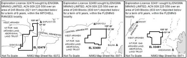 NOTICE OF MINERAL TITLE APPLICATIONS OVER    ABORIGINAL LAND    MINERAL TITLES ACT 2010 SECTION 71...