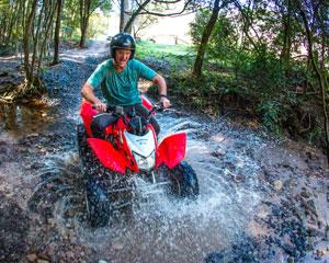 Enjoy some serious fun and thrills with this quad biking adventure. You'll take on the exciting circuit...