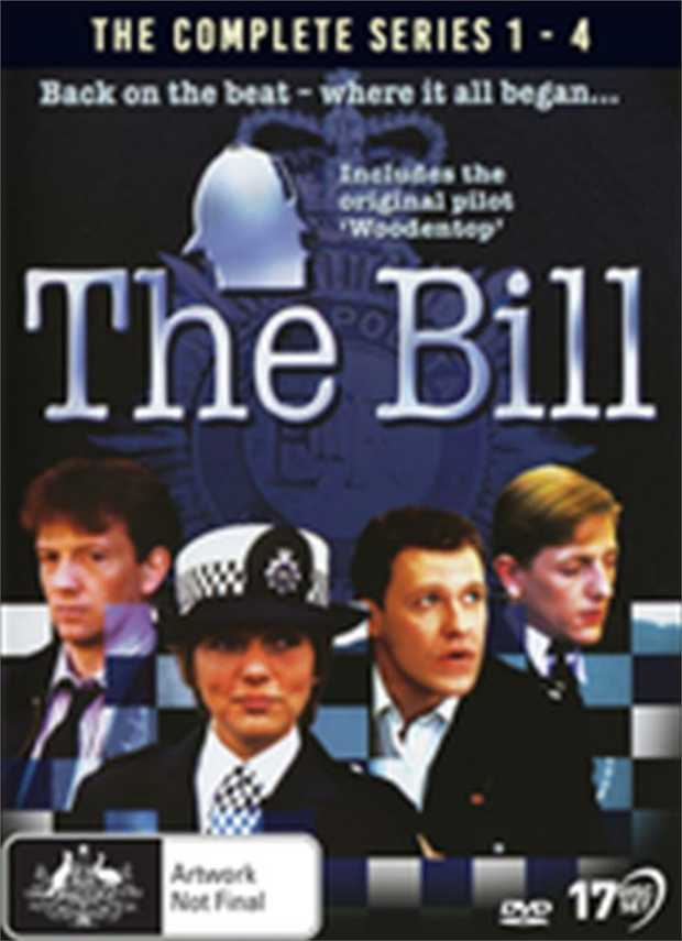 Bill - Complete Series 1-4 DVD         Back on the beat with Sun...