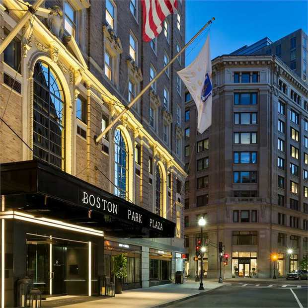 Stay in one of Boston's most beloved hotels at Boston Park Plaza: a grande dame hotel bedecked in Art...