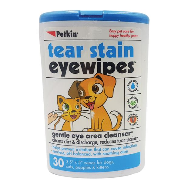 Petkin Eye Wipes 30 Pack Pet: Dog Category: Dog Supplies  Size: 0.1kg  Rich Description: No fur baby...