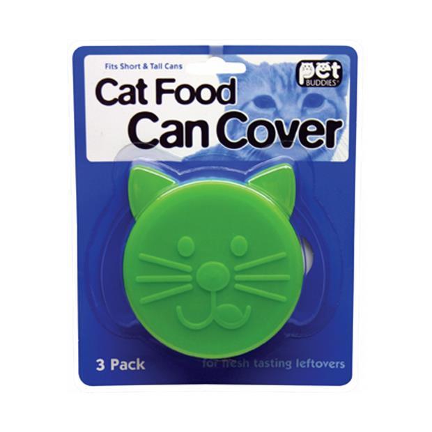 Petbuddies Cat Can Cover 3 Pack Pet: Cat Category: Cat Supplies  Size: 0.1kg  Rich Description: Food...