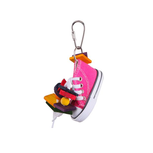 Kazoo Bird Toy With Sneaker And Chips Small Pet: Bird Category: Bird Supplies  Size: 0kg  Rich...