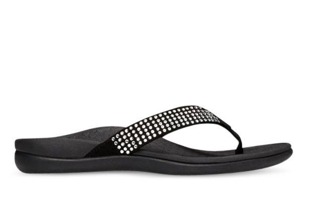We took the timless Islander flip-flop and amped up the bling factor with row upon row of tiny...