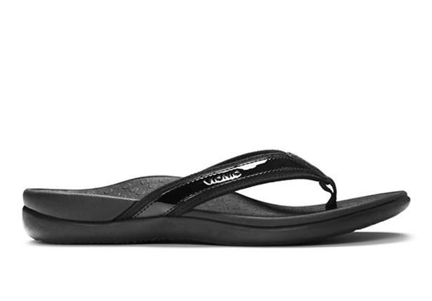 The Vionic Islander toe post thong will keep your feet comfortable all day long. A classic style thong...