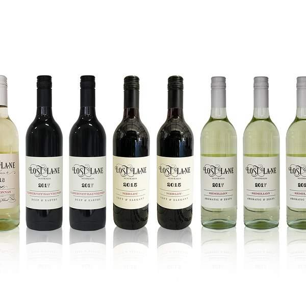 This is the ultimate mixed dozen delivered to your door, featuring plenty of hearty reds from Staghorn...