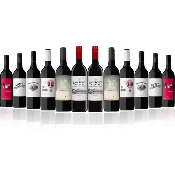 Two bottles of famous Penfolds Cabernet Sauvignon? Coming right up! There's more to this dozen than...