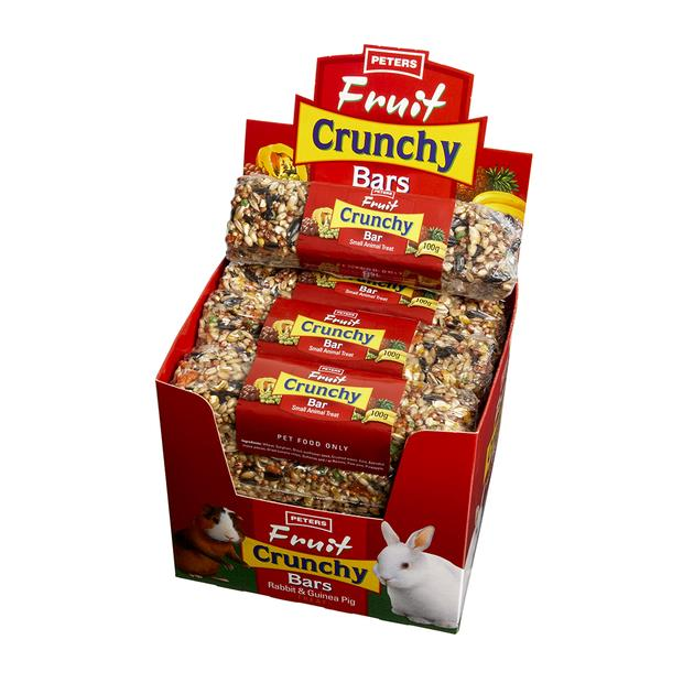 Peters Fruity Crunch Bar 100g Pet: Small Pet Category: Small Animal Supplies  Size: 1.5kg  Rich...
