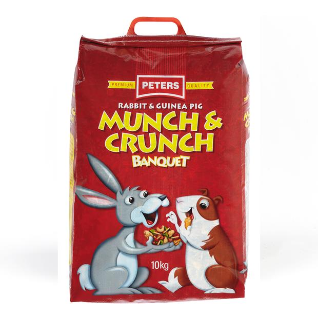 Peters Munch And Crunch 4kg Pet: Small Pet Category: Small Animal Supplies  Size: 4kg  Rich...