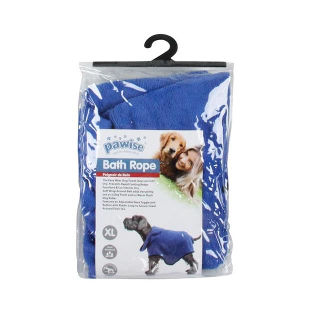 Pawise Dog Bath Robe Large Pet: Dog Category: Dog Supplies  Size: 0.6kg  Rich Description: Smart pet...
