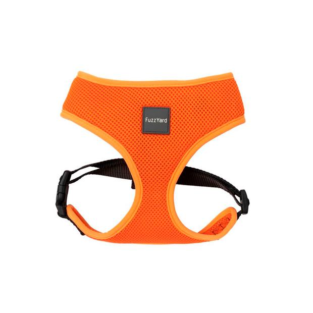 Fuzzyard Dog Harness Crush X Small Pet: Dog Category: Dog Supplies  Size: 0.2kg Colour: Orange  Rich...