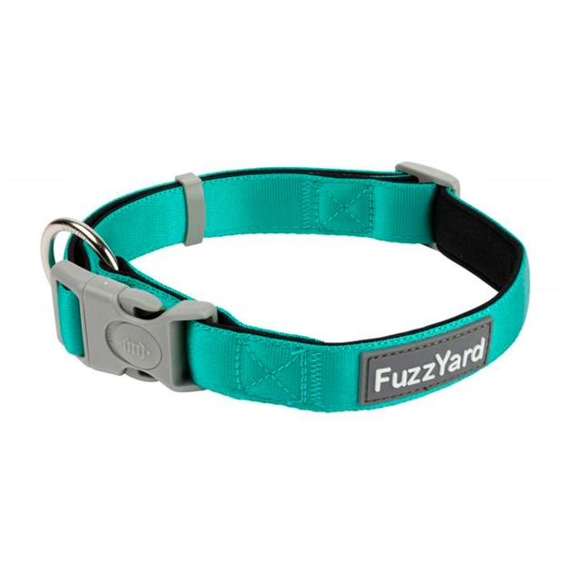 Fuzzyard Dog Collar Lagoon Large Pet: Dog Category: Dog Supplies  Size: 0.1kg Colour: Blue  Rich...