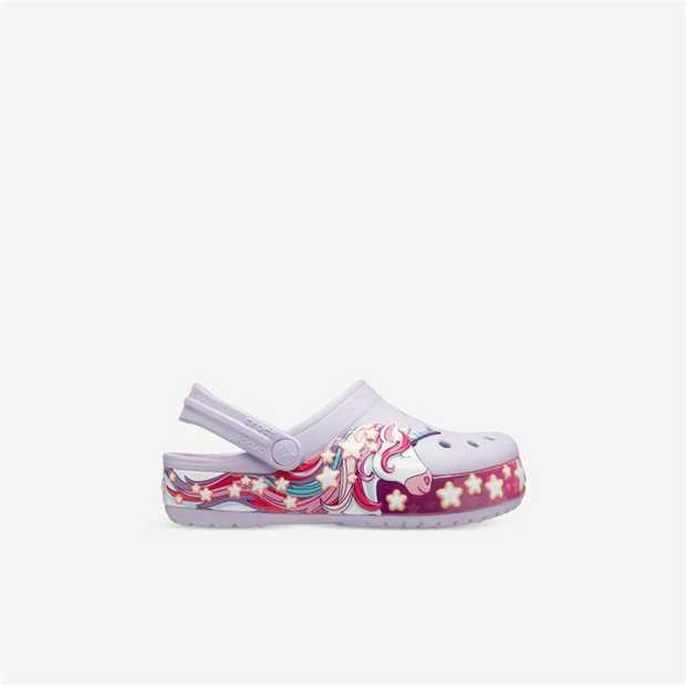 Add a touch of magic to their step with the Crocs Fun Lab Unicorn Band Clog. With all the features you...