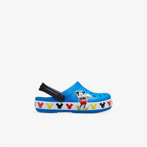 Kids love Mickey Mouse. Kids love shoes that lightweight and soft. So, it was only a matter of time...