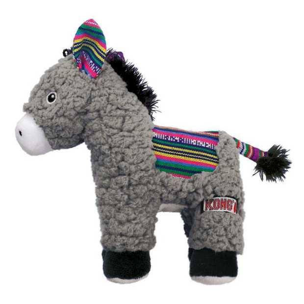KONG Sherps Plush Dog Toy - Donkey