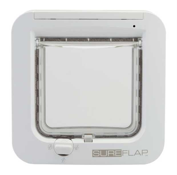 Sureflap Microchip Cat Door Dual Scan -white