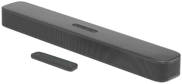 This JBL sound bar speaker has two channels. Its 80 W total output helps you pack a lot of punch into...