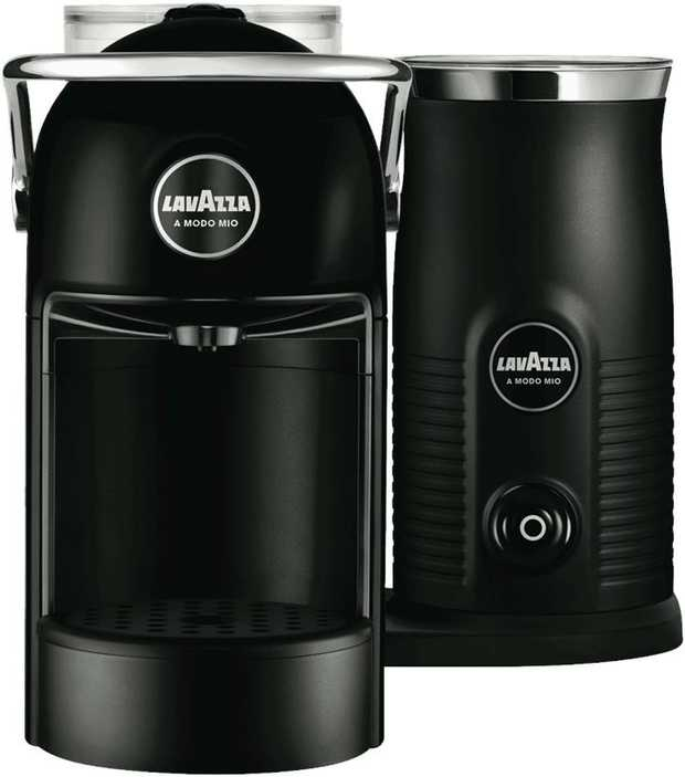 This Lavazza Jolie Capsule Coffee Machine features an integrated milk frother so you can make the...