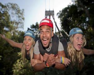 Enjoy the ultimate thrill on the Minjin jungle swing. Youll be picked up from Cairns to experience the...