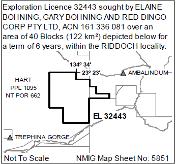 NOTICE OF PROPOSED GRANT OF EXPLORATION LICENCES    MINERAL TITLES ACT 2010 SECTION 71    NATIVE TITLE...