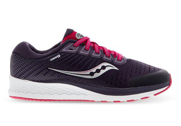The Saucony Guide 13 is a great supportive running shoe for young feet. This reliable running shoe has...