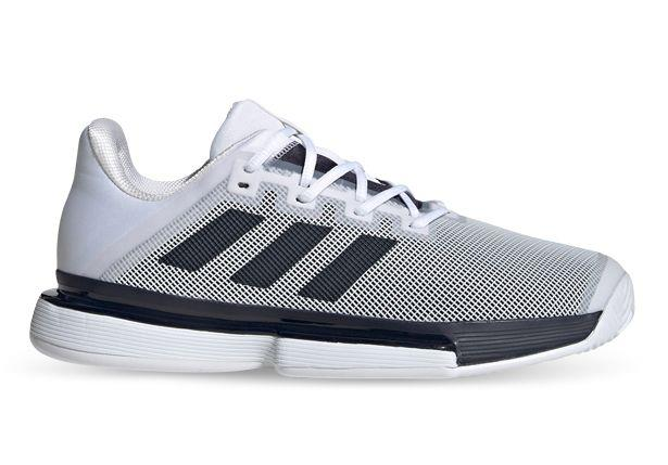 This men's Tennis shoe keeps you fighting for every point. The Adidas Solematch Bounce has a TPU...
