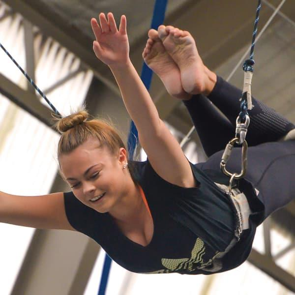 Unleash your inner acrobat and fly through the air with the greatest of ease at Sydney Trapeze School...