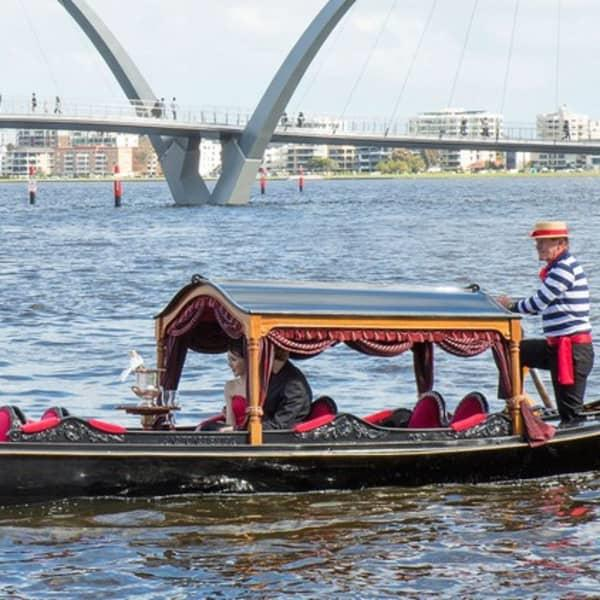 Take in the beauty of Perth in classic Venetian style with an unforgettable gondola ride down the...