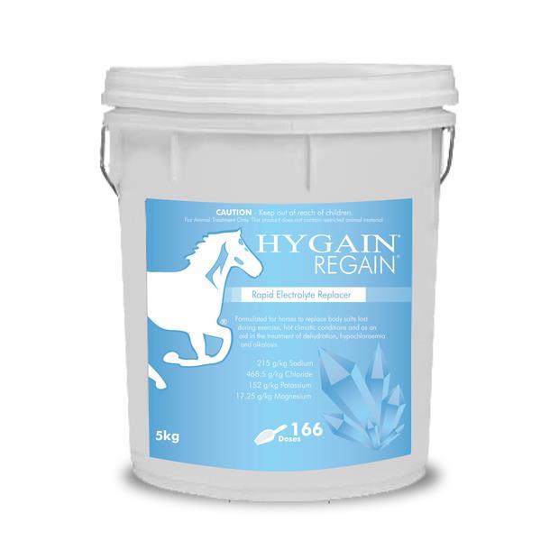 Hygain Regain 5kg Pet: Horse Size: 5.2kg  Rich Description: Suitable for All equine sports and...