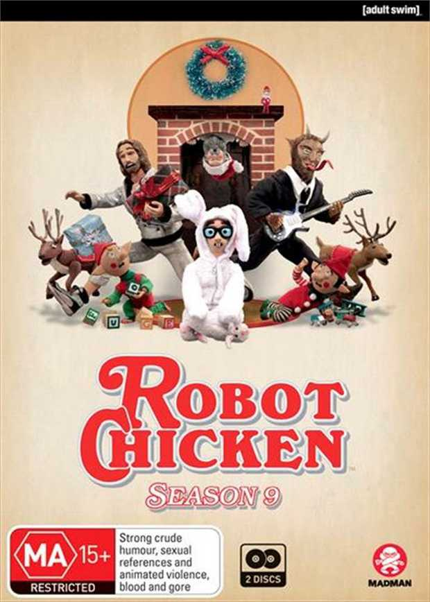 Robot Chicken - Season 9 DVD      The Most Powerful Poultry In Pop...