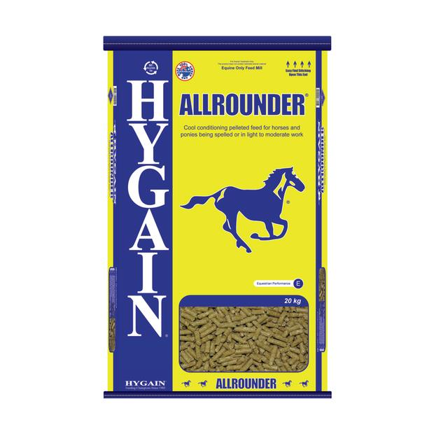 Hygain Allrounder 40kg Pet: Horse Size: 40kg  Rich Description: Suitable for Horses and ponies being...