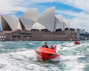 Drive a boat with no licence required and experience the highlights of Sydney Harbour on this guided...