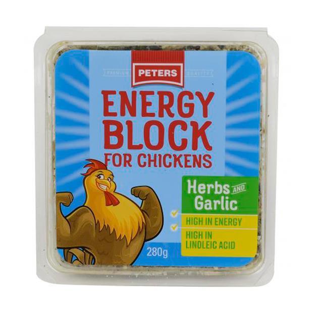 Peters Energy Block Herbs Garlic 280g Pet: Bird Category: Bird Supplies  Size: 0.3kg  Rich Description:...