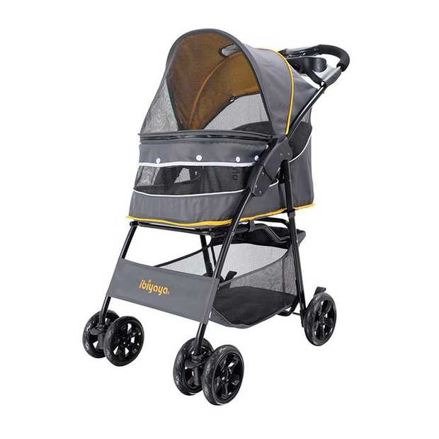 Cloud 9 Pet Stroller - Mustard Yellow