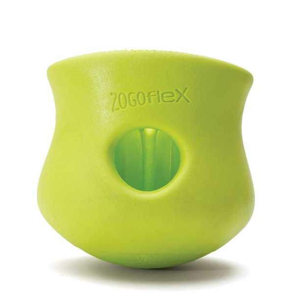 West Paw Toppl Treat Dispensing Dog Toy - Small - Green