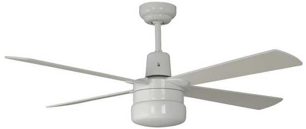 Relax under the perfect-size fan with this Mercator ceiling fan's 1200mm blade diameter. It has 3 speed...