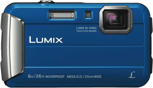This Panasonic Lumix camera's 4x optical zoom enables you to close in on that far away shot. It has a...
