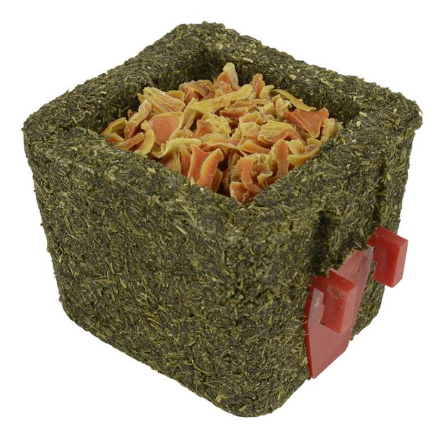 Peters Parsley Cube With Holder And Dried Carrot 2 X 80g Pet: Small Pet Category: Small Animal Supplies...