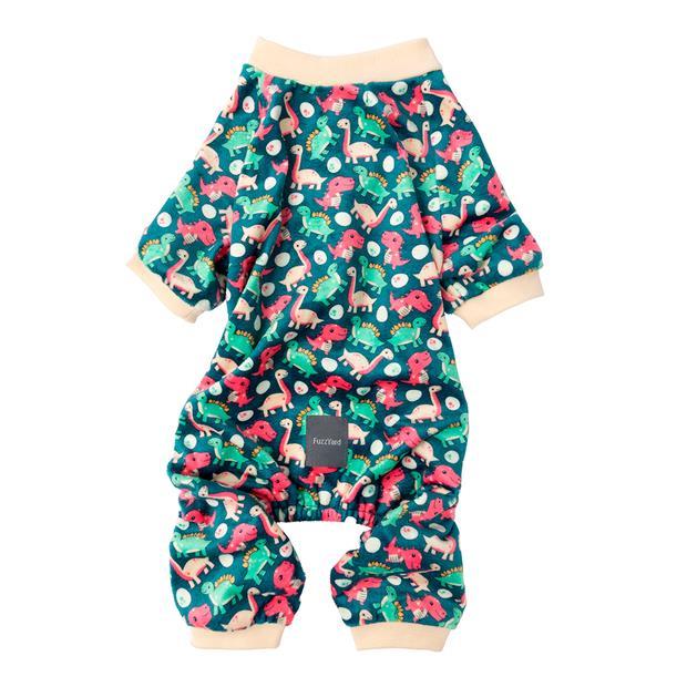 Fuzzyard Pyjama Dinosaur Land Size 6 Pet: Dog Category: Dog Supplies  Size: 1.2kg Colour: Multi  Rich...