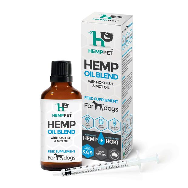 Hemp Pet Hemp Oil Hoki And Mct Blend For Dogs 100ml Pet: Dog Category: Dog Supplies  Size: 0.2kg  Rich...