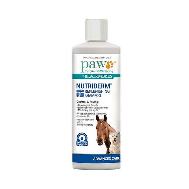 Paw Nutriderm Replenishing Shampoo 200ml Pet: Dog Category: Dog Supplies  Size: 0.2kg  Rich...