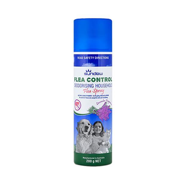 Sundew Flea Control Spray Lavender Each Pet: Dog Category: Dog Supplies  Size: 0.3kg  Rich Description:...