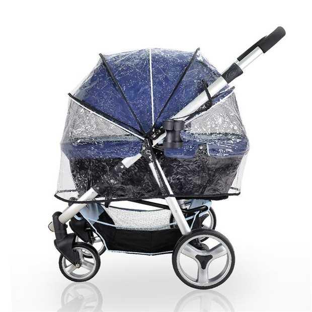Ibiyaya Universal Raincover for Cleo, Monarch, Gentle Giant Strollers