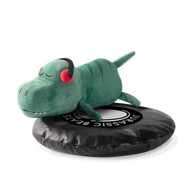 Fringe Studio DJ Rexy Jurassic Beats T-Rex Plush Squeaker Dog Toy