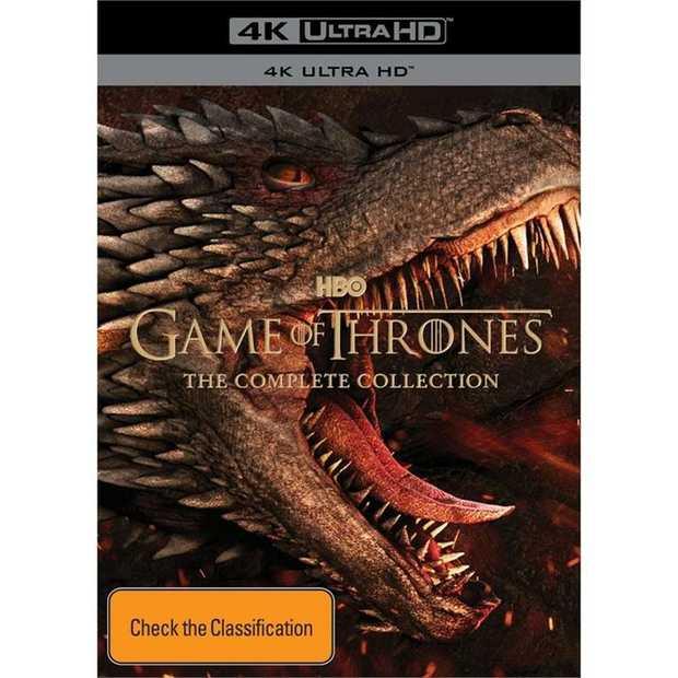 Game Of Thrones - Season 1-8 4K UHD       The North Remembers  Nine...