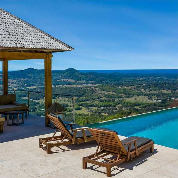 Escape to beautiful Byron Bay with a group stay at the stunning private Koonyum Range Retreat for up to...
